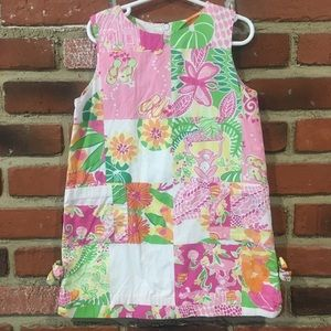 Lilly Pulitzer Girls Sheath Dress sz 5
